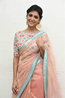 boat neck blouse splicing plain sarees with beautiful contrast designer blouses