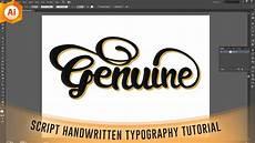 Illustrator Typography Tutorials Isolatedartz Illustrator Tutorial Script Handwritten
