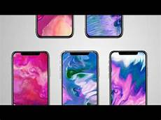iphone x wallpaper moving get iphone x fluid live wallpaper on any android device