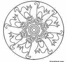 halloween mandala coloring pages mandala halloween coloring 02 mandalas halloween