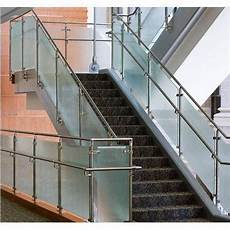 Steel Glass Grill Design Ss Glass Staircase Grill Ss Grills स ट नल स स ट ल