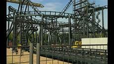 Rock N Roll Roller Coaster Lights On Rct3 Rock N Rollercoaster Avec Aerosmith Teaser Youtube