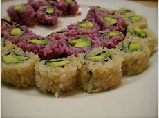 Sushi without seaweed   Sushi without seaweed, Food, Vegan
