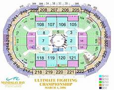 Mandalay Bay Seating Chart Mandalay Bay Events Center Tickets In Las Vegas Nevada