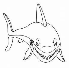 ausmalbilder malvorlagen haifisch kostenlos zum