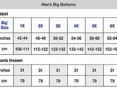 Big And Size Chart Pants Champion Big Amp Mens Open Bottom Pant With Piping