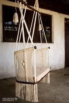 preorder of hanging chair in macrame 1 year by hangahammock