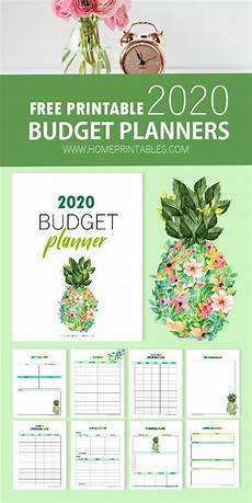 2020 Budget Planner Free Printable Budget Planner 2020 Grow Your Savings