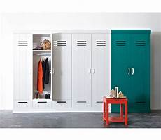 connect 2 door locker wardrobe with 2 drawers additional