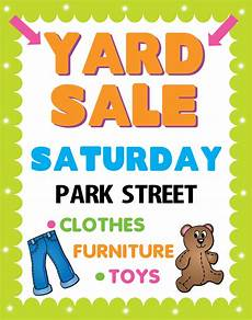 Garage Sale Poster Ideas Create A Poster About Yard Sale Awareness Garage Sale