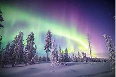 When Northern Lights Finland Northern Lights In Finland Around The World In 18 Years