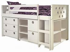 garrison low loft bed contemporary beds