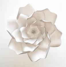 diy minimalist paper flower wedding decorations once wed