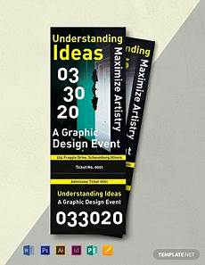 Admission Ticket Template Word 10 Free Admission Ticket Templates Word Doc Psd