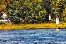 Doubling Point Range Lights Maine Lighthouses And Beyond Kennebec River Range Lighthouses