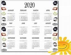 2020 Calendar Pdf Calendar 2020 Pdf For Mark Your Daily Class Calendar