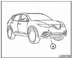 Nissan Rogue Collision Light Nissan Rogue Owners Manual Forward Collision Warning Fcw