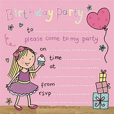 Birthday Invitations Girls Party Invitations Birthday Party Invitations Kids Party