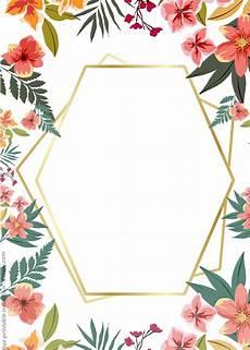 Free Invitation Template Download 24 Free Printable Floral Watercolor Invitation Templates