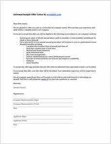 Letters Offering Employment 8 Job Offer Letter Templates For Every Circumstance Plus