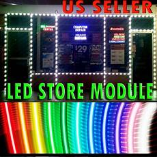 Led Light Store Edmonton Store Front Window Indoor Outdoor Led Module Installed