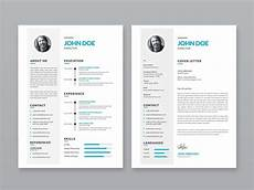 Portfolio And Resumes Free Simple Resume Template With Portfolio And Cover Letter