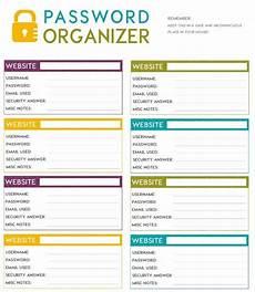 Password Journal Template Free Printable Password Organizer A K A Printable