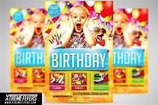 Kids Flyers Kids Birthday Flyer Template Flyer Templates Creative