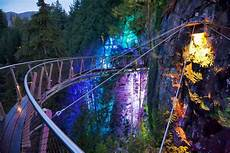 Capilano Suspension Bridge Canyon Lights Tickets Things To Do In Vancouver Canyon Lights Capilano