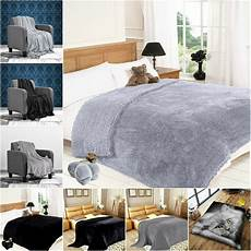 Gray Throws And Blankets For Sofa 3d Image by Black Grey Silver Faux Fur Sofa Throw Fleece Warm Cosy