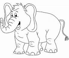 Ausmalbilder Elefant Kostenlos Print Teaching Through Elephant Coloring