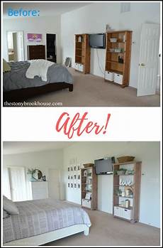 master bedroom before after it s finished the