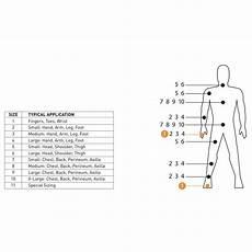 Elastic Size Chart Retainer Dressing Mckesson Tubular Elastic Dressing