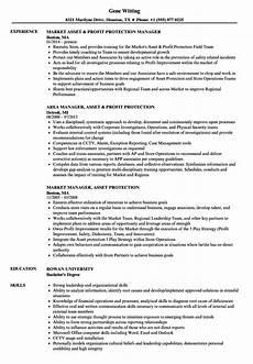 Asst Manager Resume Manager Asset Protection Resume Samples Velvet Jobs