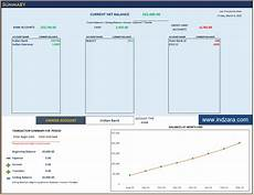 Excel Finance Template Personal Finance Manager Excel Template Indzara