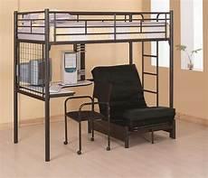 bunks loft bunk bed with futon chair desk lowest