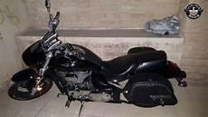 Suzuki Boulevard M50 Motorcycle Saddlebags Marauder Side