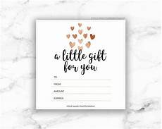 Gift Card Samples Free Printable Rose Gold Hearts Gift Certificate Template Etsy