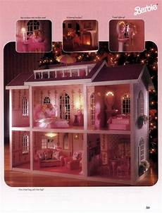 Barbie Doll House With Lights Barbie Magical Mansion With Working Lights By Mattel 1991