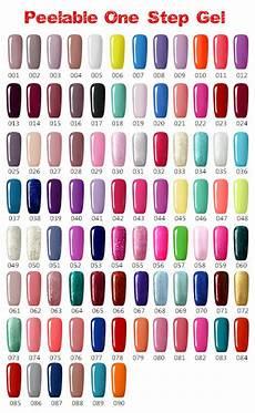 Cnc Gel Polish Color Chart 2015 Gelsky Nail Art Uv Gel Polish 90 Colors Easy Peel Off