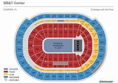 Bb T Seating Chart For Concerts Seating Charts Bb Amp T Center