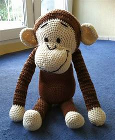 crochet mr monkey my and only attempt so