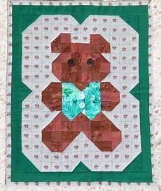 patchwork enfant patchwork ourson facile pour enfant patchwork
