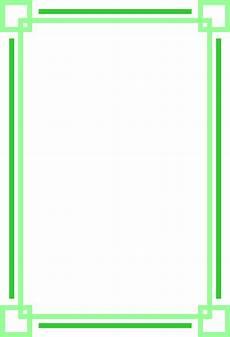 Green Border Design Border Green Free Stock Photo Illustration Of A Blank