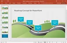 Powerpoint Roadmap Template Best Roadmap Templates For Powerpoint