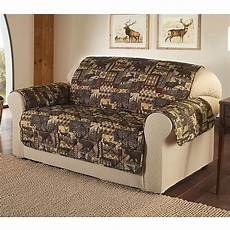 Chocolate Sofa Cover 3d Image by Lodge Sofa Cover In Brown Bed Bath Beyond