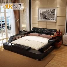 aliexpress buy modern leather king size storage bed