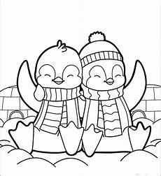 penguin coloring pages at getcolorings free
