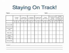 Chart For Students To Monitor Progress This Is An Editable Tracking Chart For A Student Who Needs