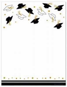 Imprintable Blank Stock Hat Toss Letterhead Graduation
